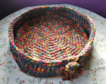 Hand Crocheted Cat Bed
