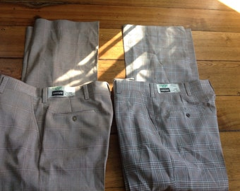 Haggar Stretch Pants for Men Size 34x31//Sports Leisure Golf Career Pants for Men//1970s Fashions//Gifts for Him//Fathers Day Gift BQH6t6rO1