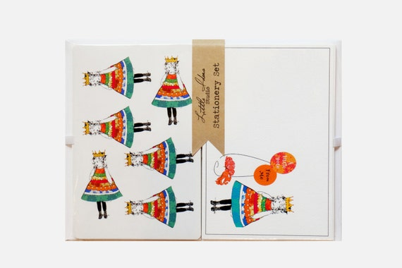Stationery Set With Stickers
