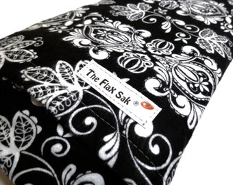 FLAX HEATING PAD, Large Heat Pack, Microwavable, Neck-Flax Bag, Pain-Removable/Washable Cover, Scented or Unscented, Back, Hips, Tummy  pain