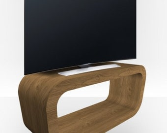 Pippy Oak Matt TV Stand - Hooptangle
