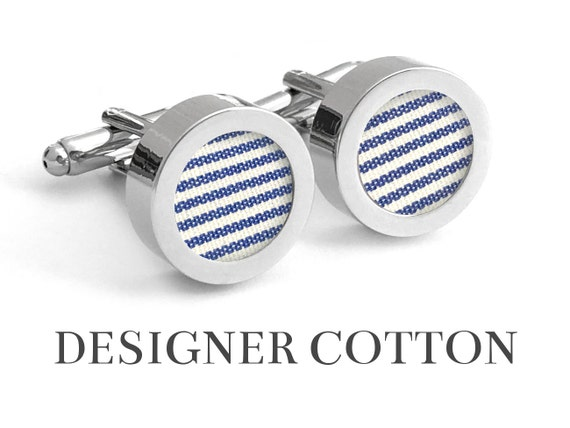 Second Wedding Anniversary Gifts For Men: Cotton Anniversary Gift For Him // MARITIME // 2nd Anniversary