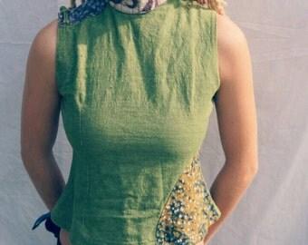SALE secret garden pixie top