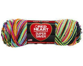 Red Heart Super Saver - Blacklight