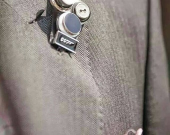 James Bond Wedding Buttonhole other characters possible