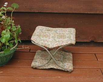 Child's Carriage Seat, Antique Folding Child's Booster Seat, Folding Carriage Seat