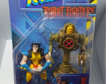 1997 xmen robot fighters wolverine action figure marvel comics