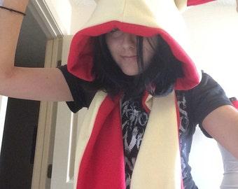Plusle Hood scarf