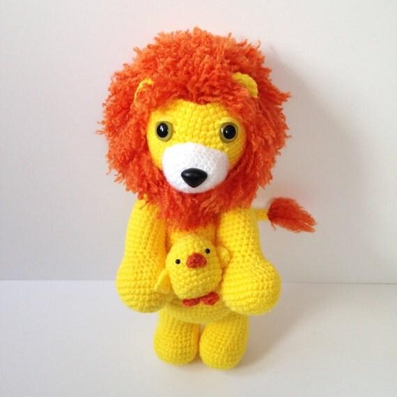 Amigurumi Baby Chicks : Amigurumi Lion Chick Crochet Lion Chick Crochet by AmiAmiGocco