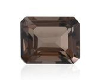 Brazilian Smoky Quartz Loose Gemstone Octagon Cut 1A Quality 9x7mm TGW 2.00 cts.