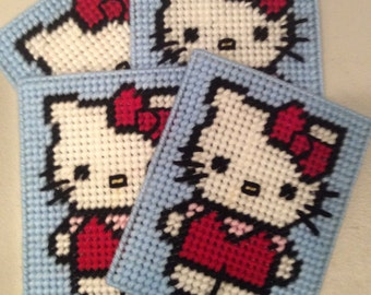 Coasters: Hello Kitty coaster set of 4