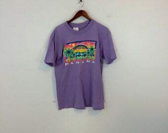 Medium panama travel t shirt