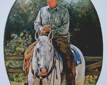 Ray Hunt on Silver Eyed Lass