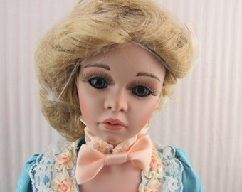 "Lori Ladd ""A'imee"" 26"" Porcelain Doll, World Gallery Dolls, Limited Edition"