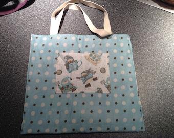 Snowman handbag/purse. Fully reversible