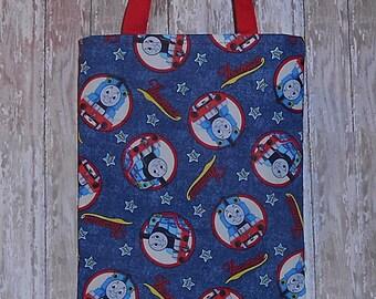Kid's Tote Bag-  Train