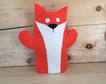 Felt Fox Hand Puppet