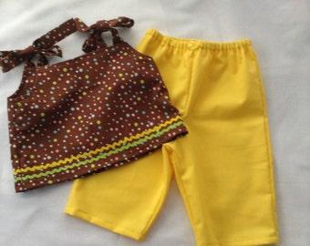 Little girls Capri set 2T