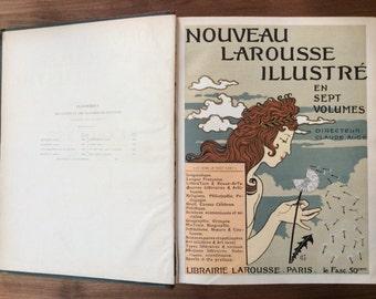 Nouveau Larousse Illustré Encyclopaedia, printed 1897-1905