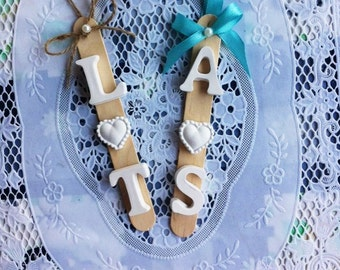 wedding favors  personalized with initials