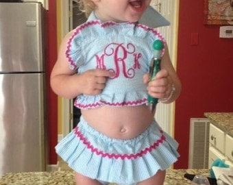 Monogrammed Swimsuit !!