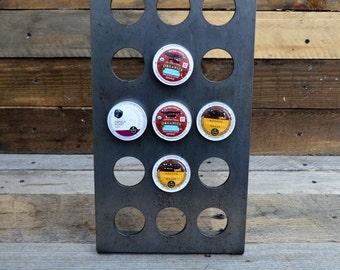 Industrial Style 15 K cup rack