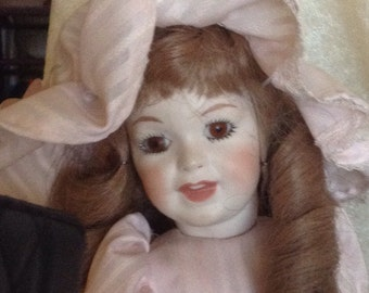 Antique Reproduction  Victorian Style Doll