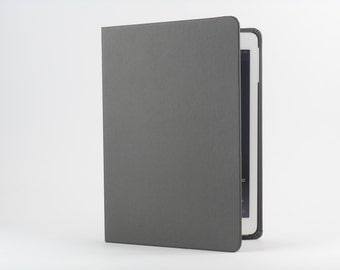 SALE: iPad Cover with Stand in Steel by Old City Cases