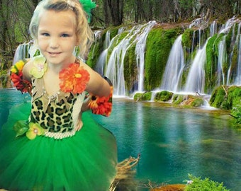 Jungle theme, katy perry inspired  jungle tutu dress, Tarzan & Jane tutu dress, animal print tutu dress,jungle theme dress, jungle