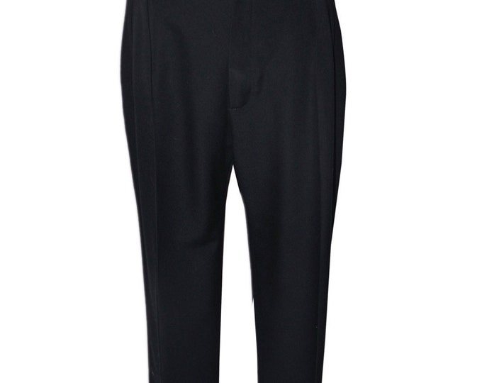 Saint Laurent Rive Gauche Vintage Estate Tuxedo Pants