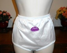 Vintage 1980's ~ Hanna Silky Bridal White Nylon Panties ~ NWT ~ Size Medium