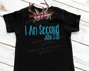 I am Second Christian Adult Shirt