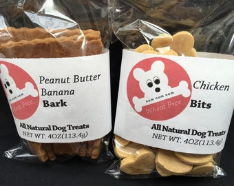 4oz All Natural WHEAT FREE Dog Treats Made in USA