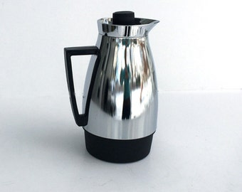 Mid Century Coffee Carafe Pot Stainless Steel Japan