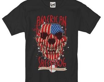 American Sheepdog Skull Man's T-Shirt (SB817)