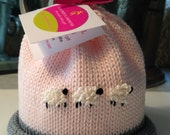 Baby Girl Newborn Sheep Hat Colorful Crowns