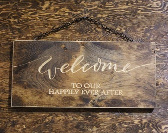 Welcome to our happily ever after