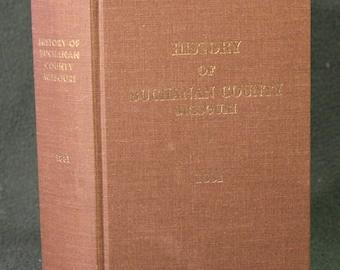 The History Of Buchanan County, Missouri 1881 Illustrated County History Including St. Joseph Missouri Large/Thick Book Plus Ephemera!
