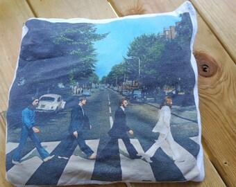 The Beatles Abbey Road T Shirt Pillow