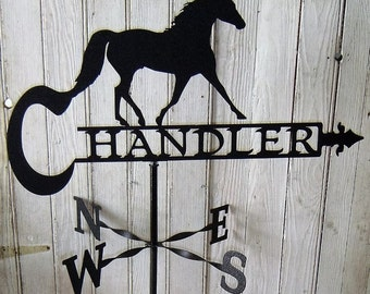 Horse Personalized Weather Vane
