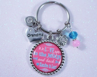 PERSONALIZED GRANDMA GIFT, Personalized Grandma Gift, Grandma Birthday Gift, Personalized Birthday Gift, Grandma Birthday Key Chain, Gift