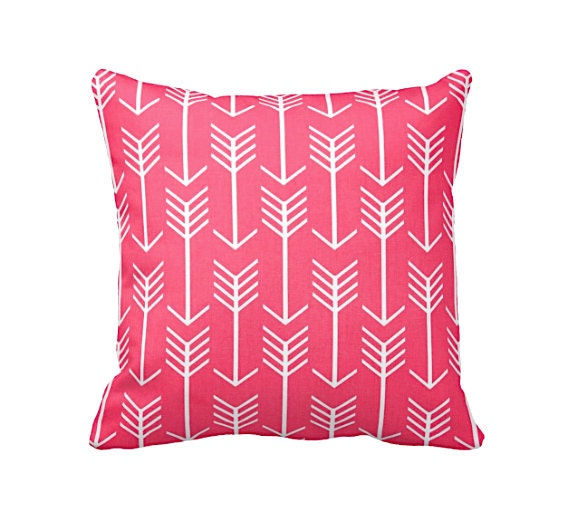 Standard Decorative Pillow Dimensions : 7 Sizes Available: Decorative Pillow Cover Pink Throw Pillow