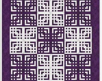 """Quilt Pattern - Lovers' Knot - King size: 110"""" x 110"""""""