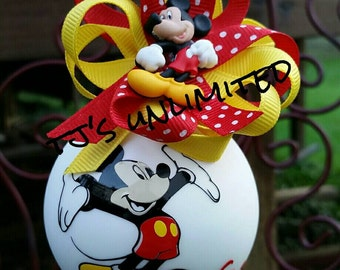 Mickey mouse. Full color. Personalized. Ornament