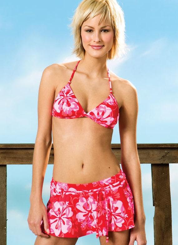 Kwik Sew Pattern K3330 Misses Bikinis And Wrap From