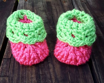 Newborn Bitty Baby Booties