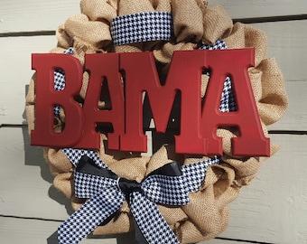 Bama Wreath