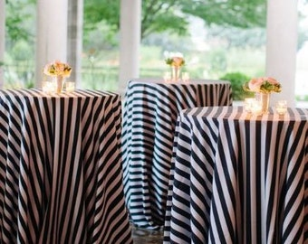 Black And White Stripe, 12 Black And White Striped Table Runners, Black And  White Part 50