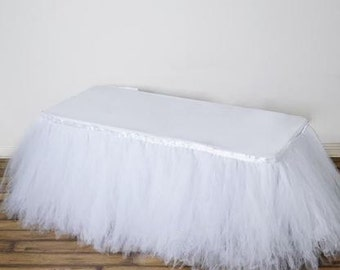 Tulle Tablecloth Etsy