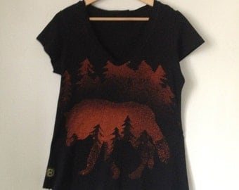 Wolves forest T-shirt